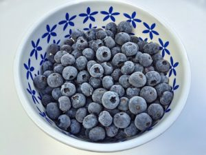 Zero Waste Canada - Freezing Blueberries
